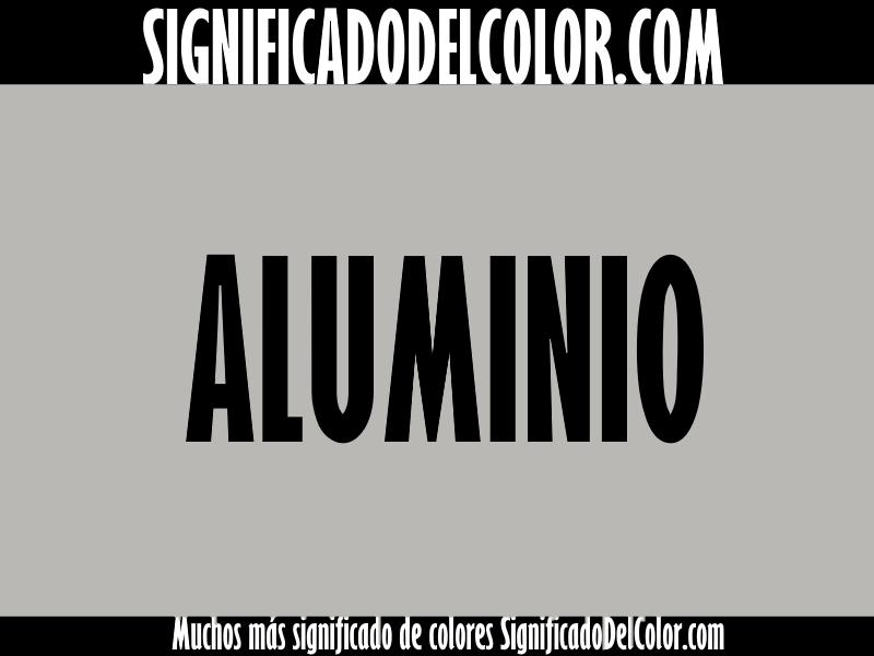 Cual es el color Aluminio ▷【Como es el color aluminio + Ejemplo】