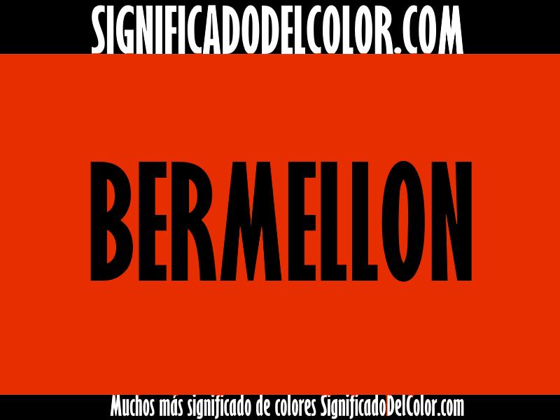 Cual es el color bermellon ▷【Como es el color bermellon + Ejemplo】