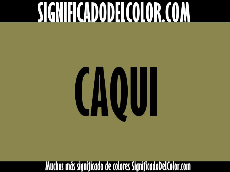 Cual es el color caqui ▷【Como es el color caqui + Ejemplo】