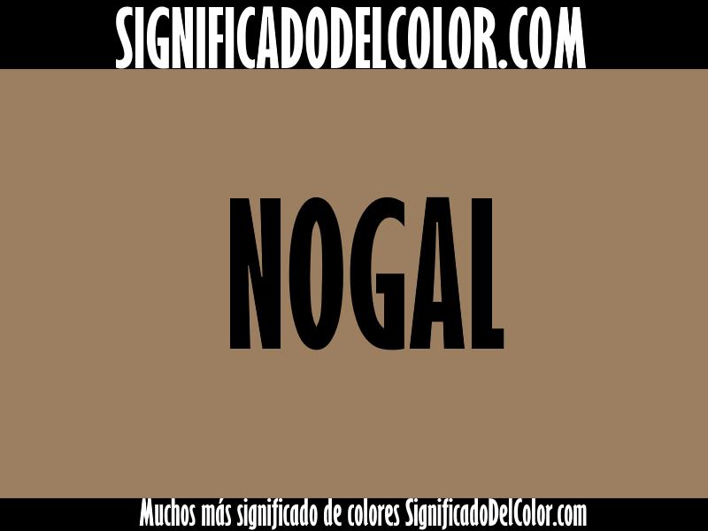 Cual es el color nogal ▷【Como es el color nogal + Ejemplo】