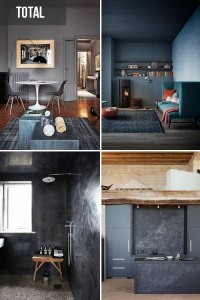 el antracita dará a tus estancias un toque moderno