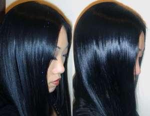 el color de cabello azabache es muy apreciado