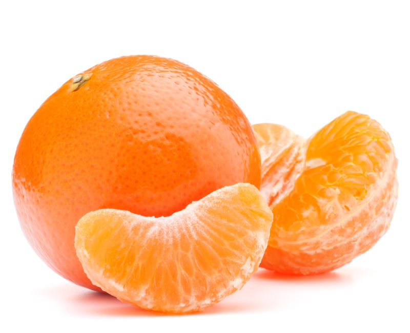 las mandarinas dan nombre a esta tonalidad del color naranja
