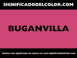 cual es el color buganvilla
