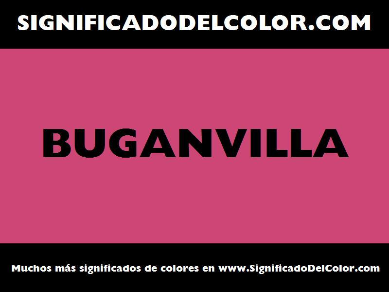 ¿Cual es el color Buganvilla?