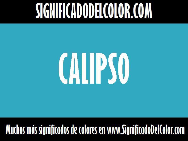 ¿Cual es el color Calipso?