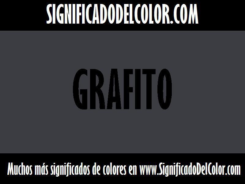 ¿Cual es el color Grafito?