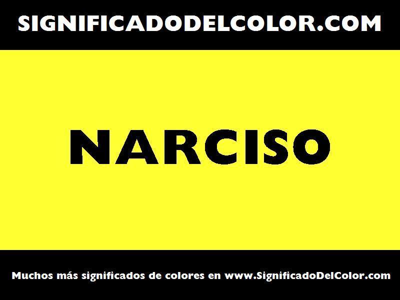 ¿Cual es el color Narciso?