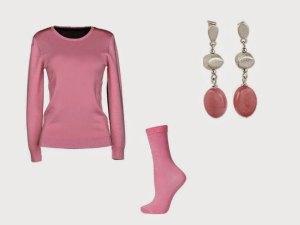 el color puce es ampliamente utilizado en moda y complementos