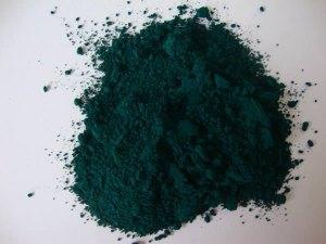 el color verde ftalo es un pigmento muy utilizado