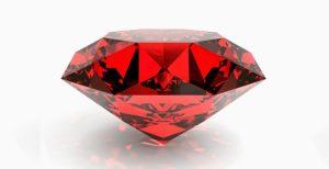 esta piedra preciosa llamada rubí da nombre a este bello color y todas sus tonalidades
