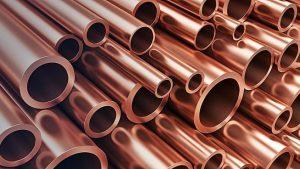 imagen de tubos de cobre