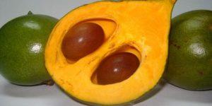 la lúcuma es una fruta originaria de Perú que da nombre a este color