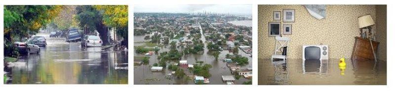 enchente invadindo tudo