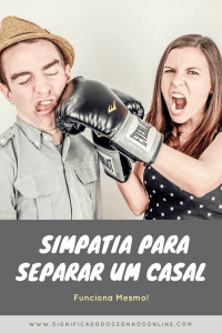 ▷ Simpatia para Separar um Casal 【FUNCIONA MESMO】