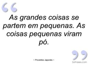 Pequenas frases