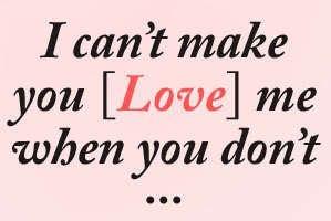 Frases em inglês de amor