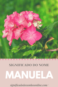 Significado do nome Manuela