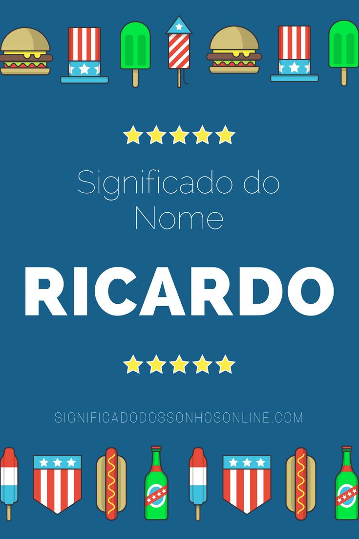 Significado do nome Ricardo