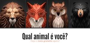 TESTE: Qual animal melhor corresponde à sua personalidade?
