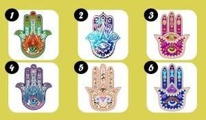 Teste: Escolha Uma Mão De Hamsa e Descubra Que Mensagem Ela Tem Para Você