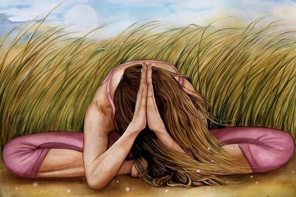 Pratique Esta Postura De Ioga De Dois Minutos Para Recuperar Sua Estabilidade Emocional