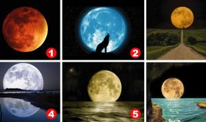 Teste Da lua Criado Por Um Psicólogo:Escolha Uma Lua e Descubra Sua Personalidade Oculta