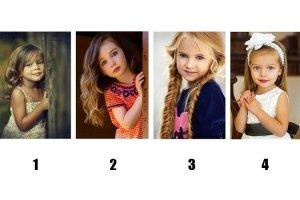 Escolha a criança mais fofa e descubra o que sua escolha diz sobre você