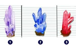 Escolha um dos cristais para receber uma mensagem sagrada