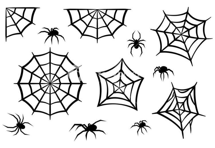 aranhas de halloween