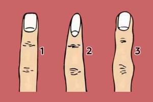 Qual a forma do seu dedo médio? Ele revela sua verdadeira identidade!