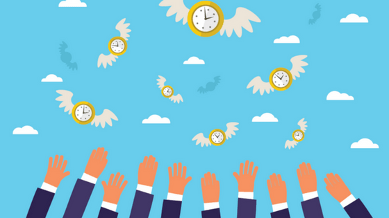 Breve reflexão do dia: É hora de recuperar o tempo perdido