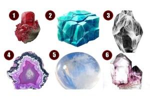 Escolha uma pedra mágica e descubra o que sua alma mais deseja