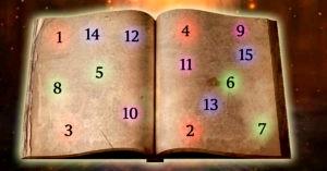 Faça uma pergunta e deixe o livro das bruxas te dar as respostas que procura