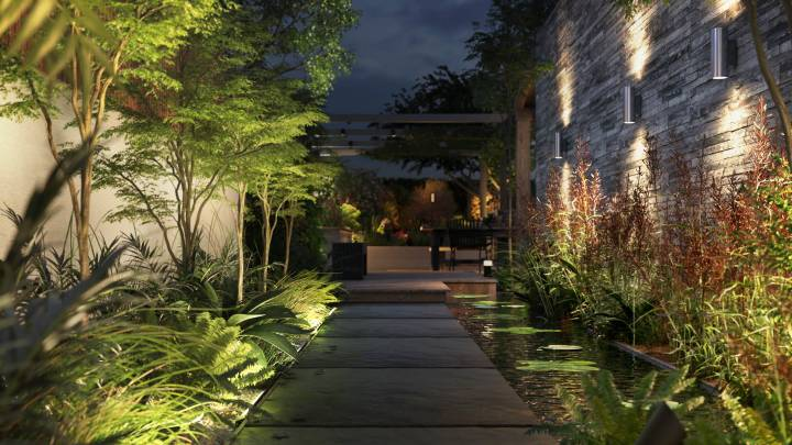 new philips hue outdoor luminaires and