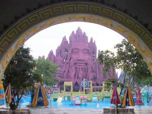 The Buddhist themed amusement park, Suoi Tien, opened in Ho Chi Minh City in 1995.