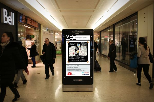 Malls Partner With Art Galleries In Digital Signage