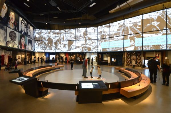 Canadian Museum Human Rights Honoured Digital And Interactive Content - Sign Media