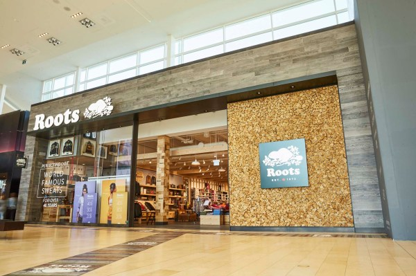 Roots Wins Retail Design Award Yorkdale Store - Sign Media