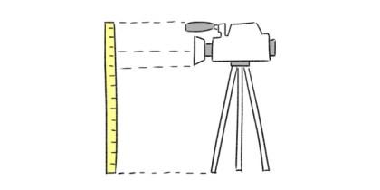 Altezza videocamera