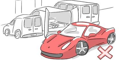 Non-Essential Vehicle