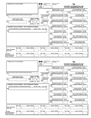 T4 form - Fill Out and Sign Printable PDF Template | SignNow