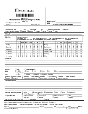 (n.) also referred to as simply a template, the data in a biometric security system that represents the biometric measurement of a specific person s webopedia is an online dictionary and internet search engine for information technology and. Ot Soap Note Fill Out And Sign Printable Pdf Template Signnow