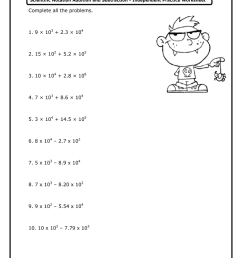 Adding And Subtracting Scientific Notation Worksheet With Answer Key Pdf -  Fill Out and Sign Printable PDF Template   signNow [ 1024 x 770 Pixel ]