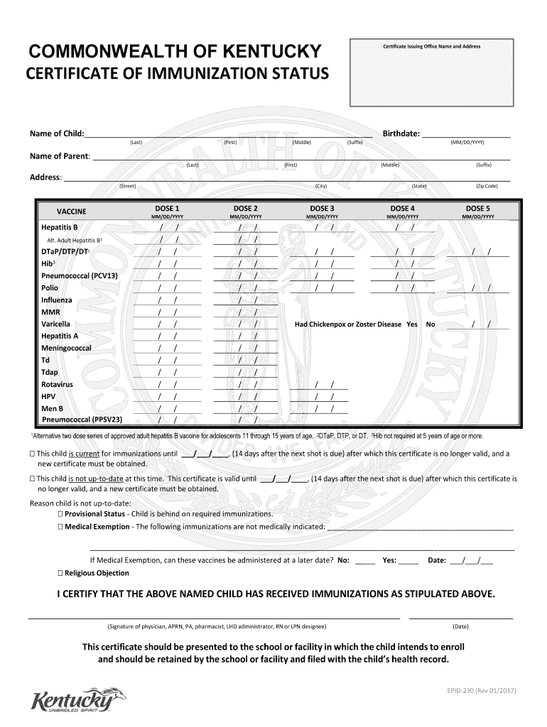 Epid Form - Fill Out and Sign Printable PDF Template   signNow