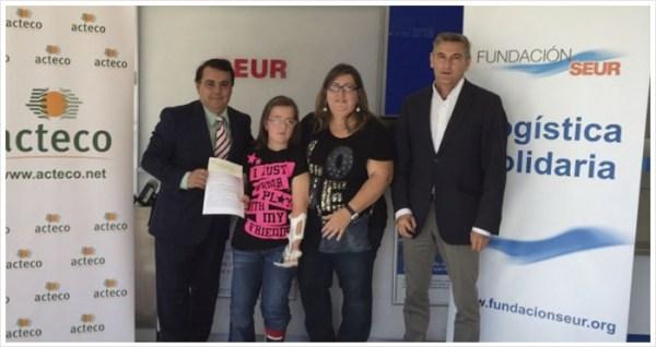 2.800 euros recaudados para el tratamiento de Beatriz