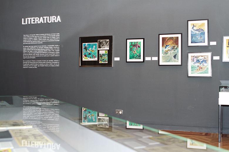 Exposición El Capitán Trueno. Foto4