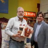 Signo editores dona 4.600 libros para las bibliotecas de Acumafu