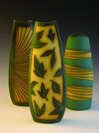 Kingsley Weihe, Ceramic Vases