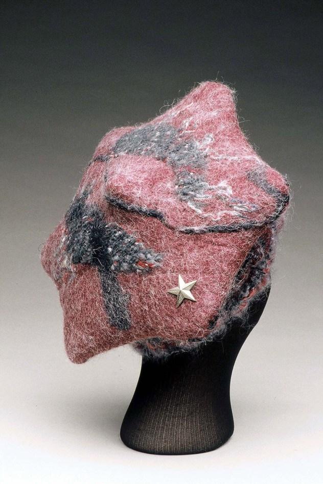 Susan Tornheim Felted Star Hat